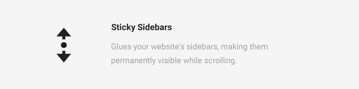 Cycling Sticky Sidebars