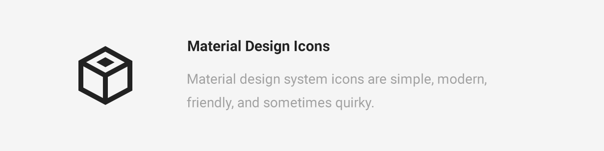 Cycling Material Design Icons